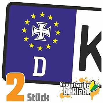 Eisernes Kreuz Orden Kennzeichen Aufkleber Sticker Nummernschild In 15 Farben