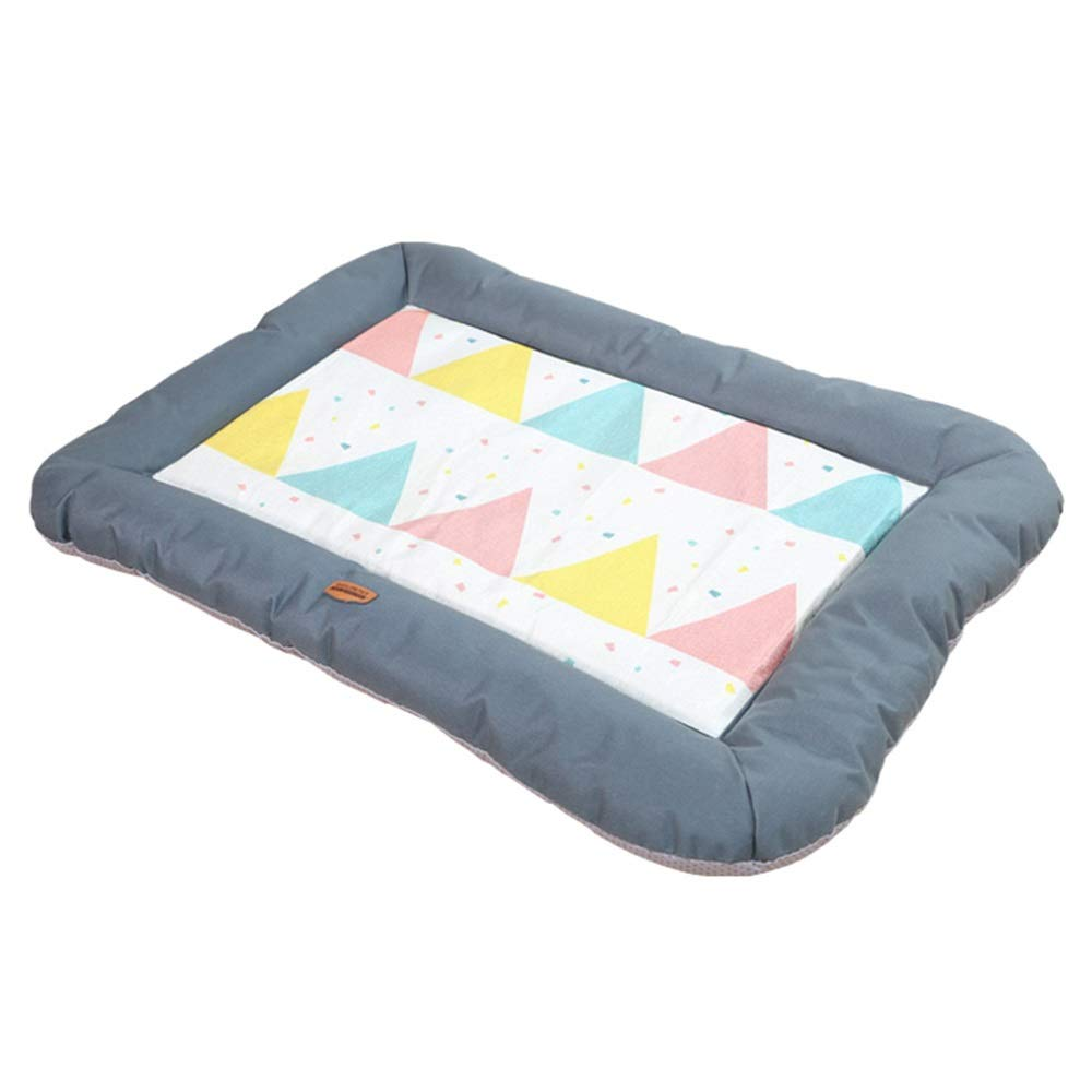 1001-M Pet Bed, Kennel Ice Pad, Summer Cool Pad, Cat Dog, Cotton Nest, Four Seasons, Mat, Sleeping Pad, Breathable (color   1001-M)