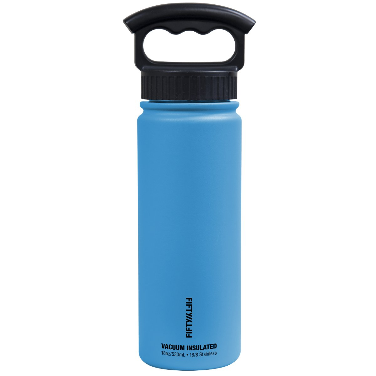 FIFTY/FIFTY Sport Water Bottle, 3 Finger Wide Mouth