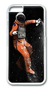 Apple Iphone 6 Case,WENJORS Awesome Astronaut Hard Case Protective Shell Cell Phone Cover For Apple Iphone 6 (4.7 Inch) - PC Transparent