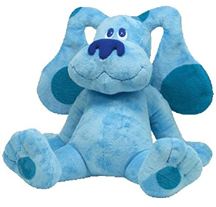 Amazoncom Ty Beanie Buddy Blues Clues 17 Plush Toys Games