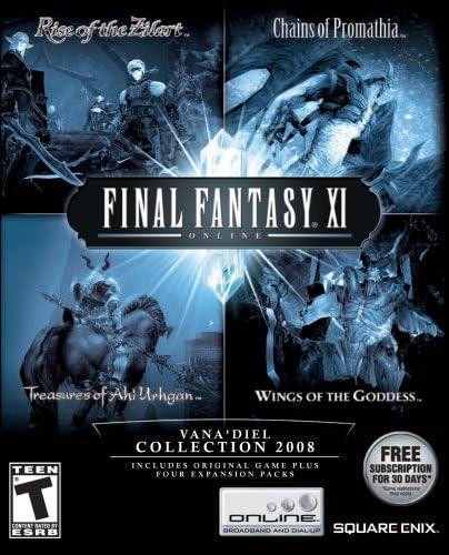 Amazon com: Final Fantasy XI Vana'diel Collection 2008 - PC