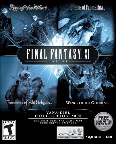 Amazon.com: Final Fantasy XI: The Vanadiel Collection 2008 ...