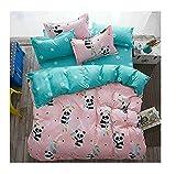 Best Magic Cover Home Fashion Pillows - Fashion Design Kids/Adult Bedding Sets Without Comforter 4pcs/Set Review