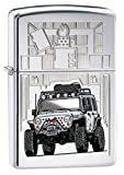 Zippo Lighter - Zippo Jeep High Polish Chrome NEW