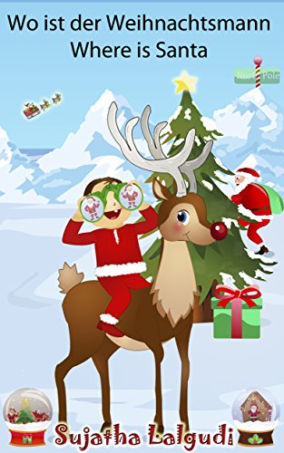 Kinderbücher Weihnachten.Weihnachtsbücher Wo Ist Der Weihnachtsmann Where Is Santa
