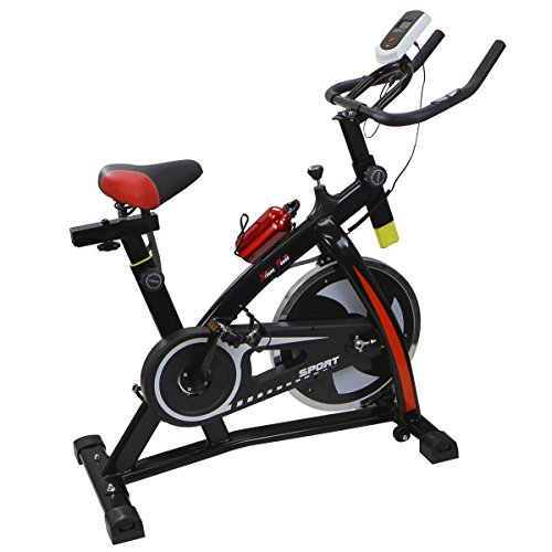 Stationary Exercise Bicycle Indoor Bike Cycling Cardio Health Workout Fitness by Tamsun