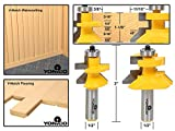 Yonico 15227 Flooring 2 Bit Tongue and Groove