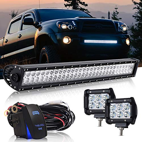 30/32 INCH 180W LED Light Bar Flood Spot Combo w/ 2PCS for sale  Delivered anywhere in Canada