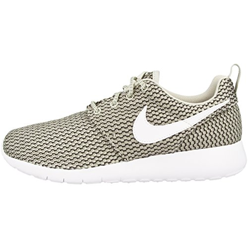 Nike Mädchen Roshe One Gs Gymnastikschuhe light bone-white-cobblestone- black (599728-041)