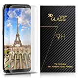 Bestfy Galaxy S8 Screen Protector, Full Coverage HD Clear...