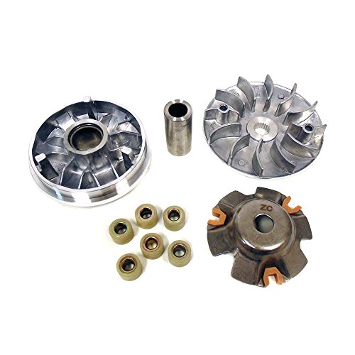 (MYK Variator Drive Wheel Assy (CVT) Complete for GY6 150cc 4 stroke engines)