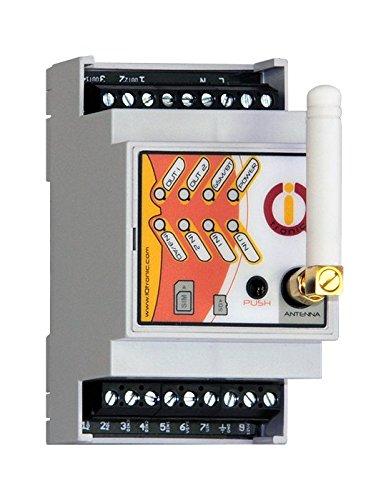 IQconbox - Carcasa Rail-DIN control por GSM y Bluetooth con detección de corte de corriente mediante teléfono móvil.