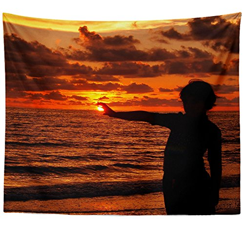 Outdoor Hanging Estrella (Westlake Art - Sky Sunset - Wall Hanging Tapestry - Picture Photography Artwork Home Decor Living Room - 68x80 Inch (55C19))