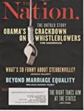 The Nation 2013 April 15 - The Untold Story of Obama's Crackdown on Whistleblowers. By Tim Shorrock