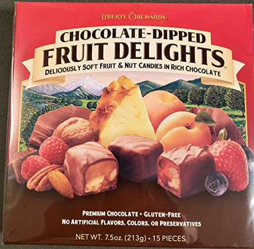 Liberty Orchards Chocolate Dipped Fruit Delights