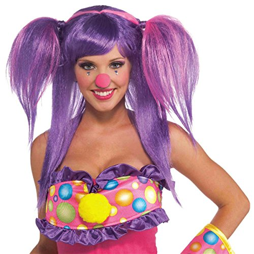 Circus Sweetie Berry Bubbles Wig Costume Accessory