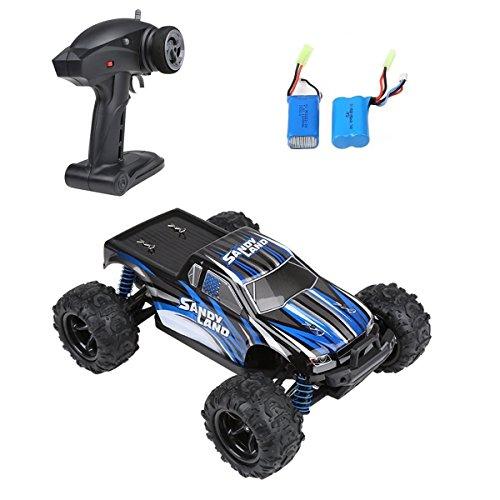 RC Auto, Distianert elektrisches RC Auto 1:18 Maßstab 2.4Ghz 4WD hohe Geschwindigkeit 30MPH mit einer extra 7.4V wiederaufladbaren Batterie