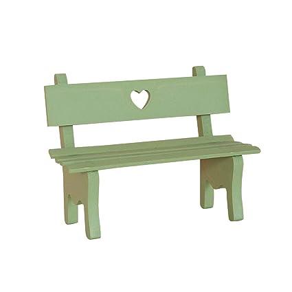 Strange Amazon Com Vosarea Decorative Mini Wooden Garden Bench Pdpeps Interior Chair Design Pdpepsorg