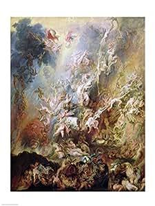 Peter Paul Rubens - La caída de los condenados Artistica di Stampa (45,72 x 60,96 cm)