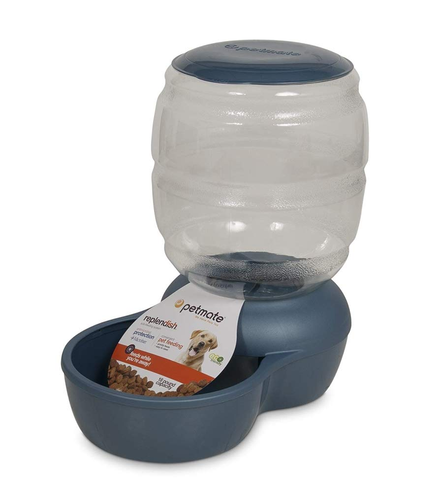 Petmate Replendish Feeder with Microban Automatic Cat and Dog Feeder 4