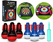 MESIXI Inflatable Darts Game Yard Flarts Lawn Darts Games Target Toys Floor Games for Kids Adults Great Fun Fa
