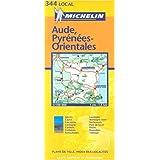 Carte routière : Aude - Pyrénées-Orientales, N° 11344