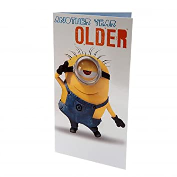 Amazon Official Licensed Despicable Me Birthday Card