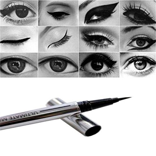 Waterproof Eyeliner Liquid Eye Liner Pen Pencil Makeup Cosmetic (Ang Bright Brush)