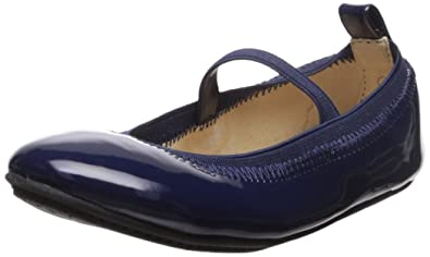 59cb710eb Yosi Samra Girls' Miss Samara Ballet Flat, Navy, 5 M US Toddler