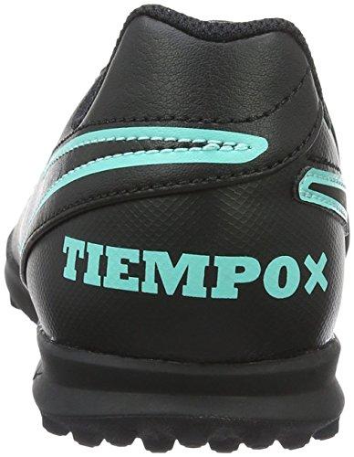 Nike Jr Tiempox Rio Iii Tg, Botas de Fútbol para Niños Negro (Black / Black)