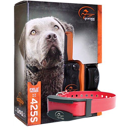 Bundle of 2 items - SportDog - SD-425S - SDR-AS - Two Dog Field Trainer for Large or Stubborn Dog Waterproof Shock Training Collar