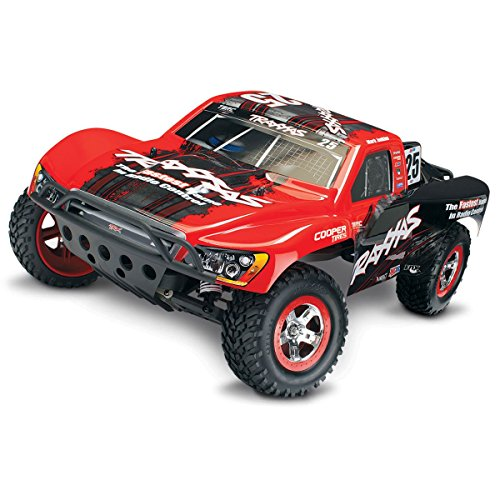 Traxxas 58034-1-MARK 1/10-Scale 2WD Short Course Racing Truck with TQ 2.4GHz Radio System,Mark Jenkins -