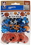 Amscan Spalding Cool Basketball Theme Confetti Decoration Party Supplies , Multicolor, 12 Pieces