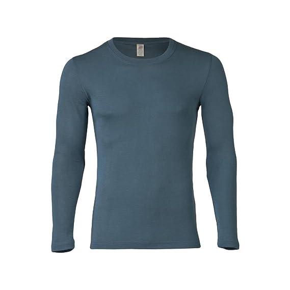 76cc4a9253ab3 Engel 70% Organic Merino Wool 30% Silk Men s T-Shirt Long Sleeved.