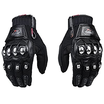 ZHW Alloy Steel Knuckle Gloves Sport Shooting Paintball Hunting Riding Motorcycle,Riding gloves
