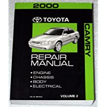 2000 Toyota Camry Repair Manual (SXV20, MCV20 Series, Volume 2 - Engine, Chassis, Body, Electrical)