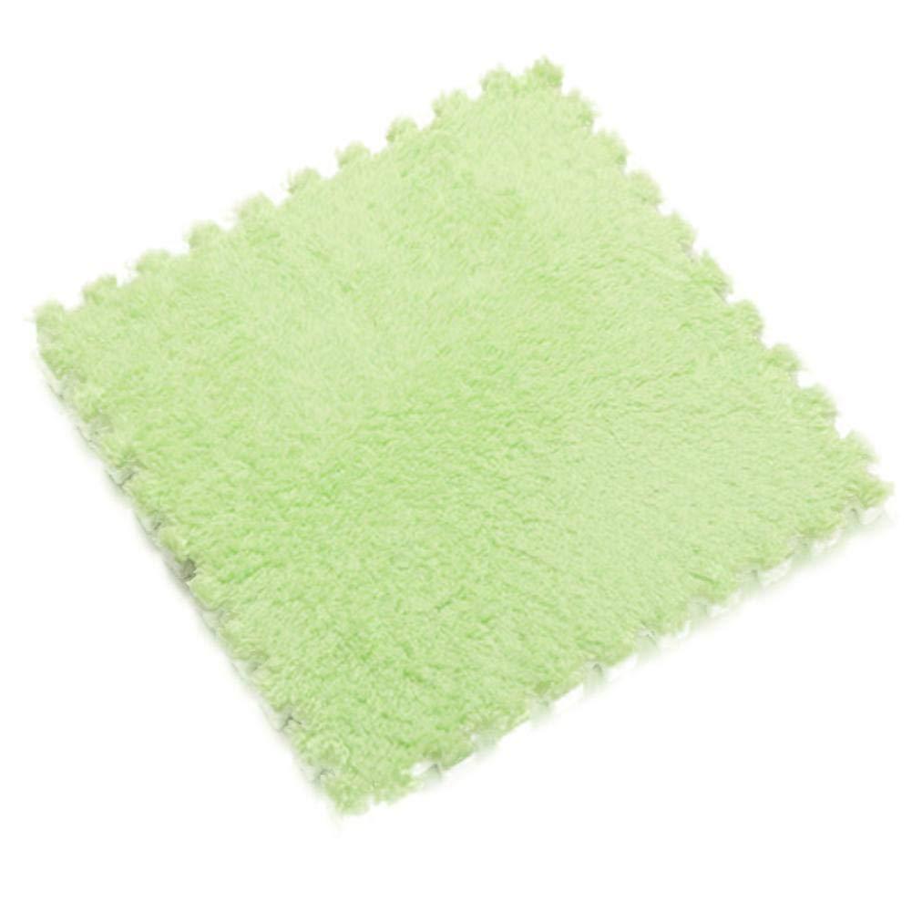 iShine 2019 Stitching Carpet Floor Door Mat - EVA Foam Bedroom Living Room Crawling Pad Tatami Puzzle Plush Surface
