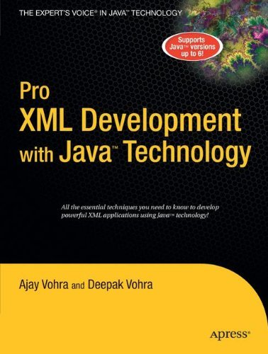 Pro XML Development with Java Technology by Ajay Vohra (1-Sep-2006) Paperback