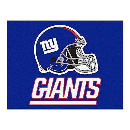 (FANMATS NFL New York Giants Nylon Face All-Star Rug)