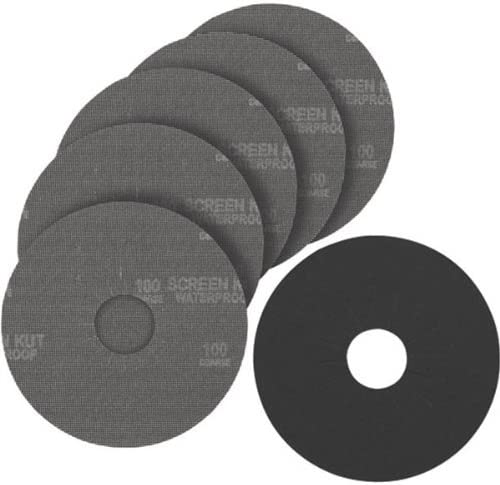B003YL48HS PORTER-CABLE 79150-25 9-Inch 150G Hook and Loop Abrasive Disc (25-Pack) 51MP3Mu5pDL