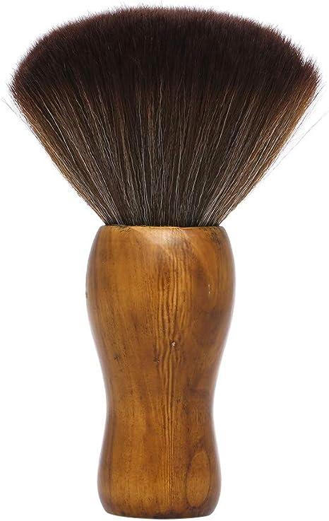 Image ofAnself Cepillos de Cuello Ultra Suave Peluquería Limpieza Cepillo Para el Cabello Peluquería Cuello del Plumero Facial Cepillo Salón