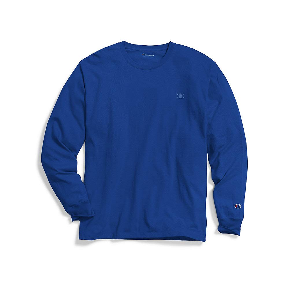 Champion Mens Classic Jersey L/s Tee (T2978) -SURF The W -XL by Champion