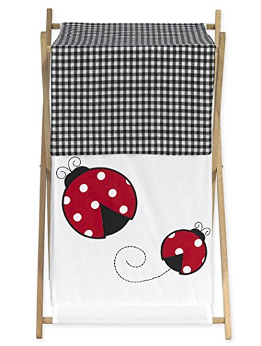 - Sweet Jojo Designs Baby and Kids Clothes Laundry Hamper for for Ladybug Polka Dot Bedding Set
