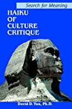 Haiku of Culture Critique, David Yun, 0595313892