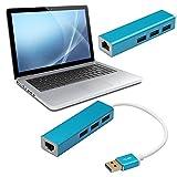 UEB USB 3.0 to RJ45 Lan Card Gigabit Ethernet Network USB Adapter+3 Port Hub