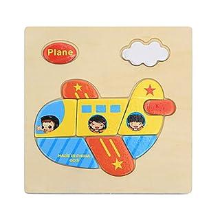 mAjglgE colorato in Legno Puzzle Animal educativo Developmental Baby Kids Training Toy