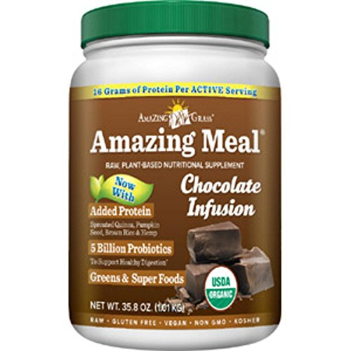 Amazing Meal Chocolate Infusion servings