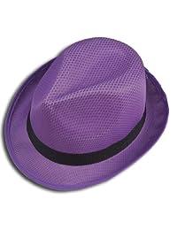LJL Design Fedora Hat Fashion Unisex Trilby Cap Summer Beach Sun Straw Panama