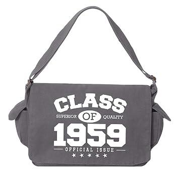 Tenacitee Make It So Grey Brushed Canvas Messenger Bag